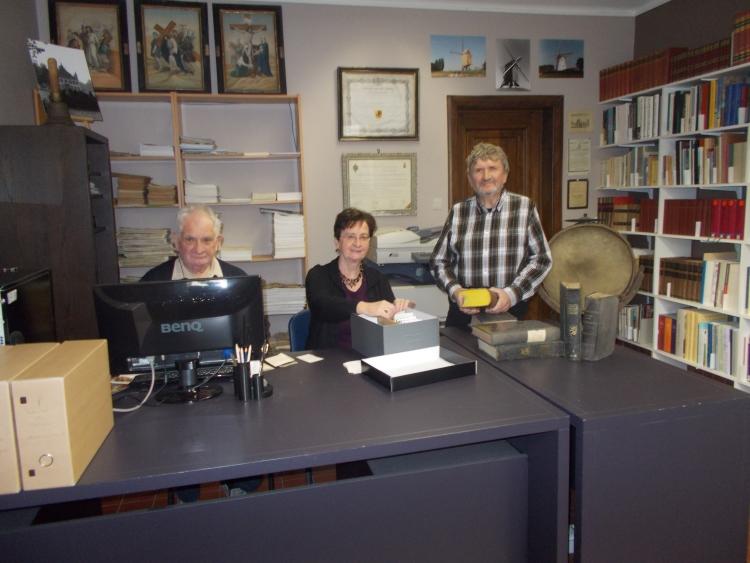 Het archiefteam